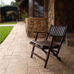 Outdoor Simulated Stone Paving