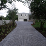 Charcoal Cobble Driveway