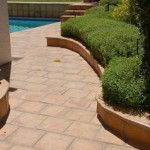 Pool Paving with Simulated Stone