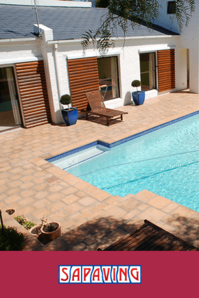 Pool Surrounds Paving