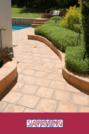 Paved Walkway Around Home