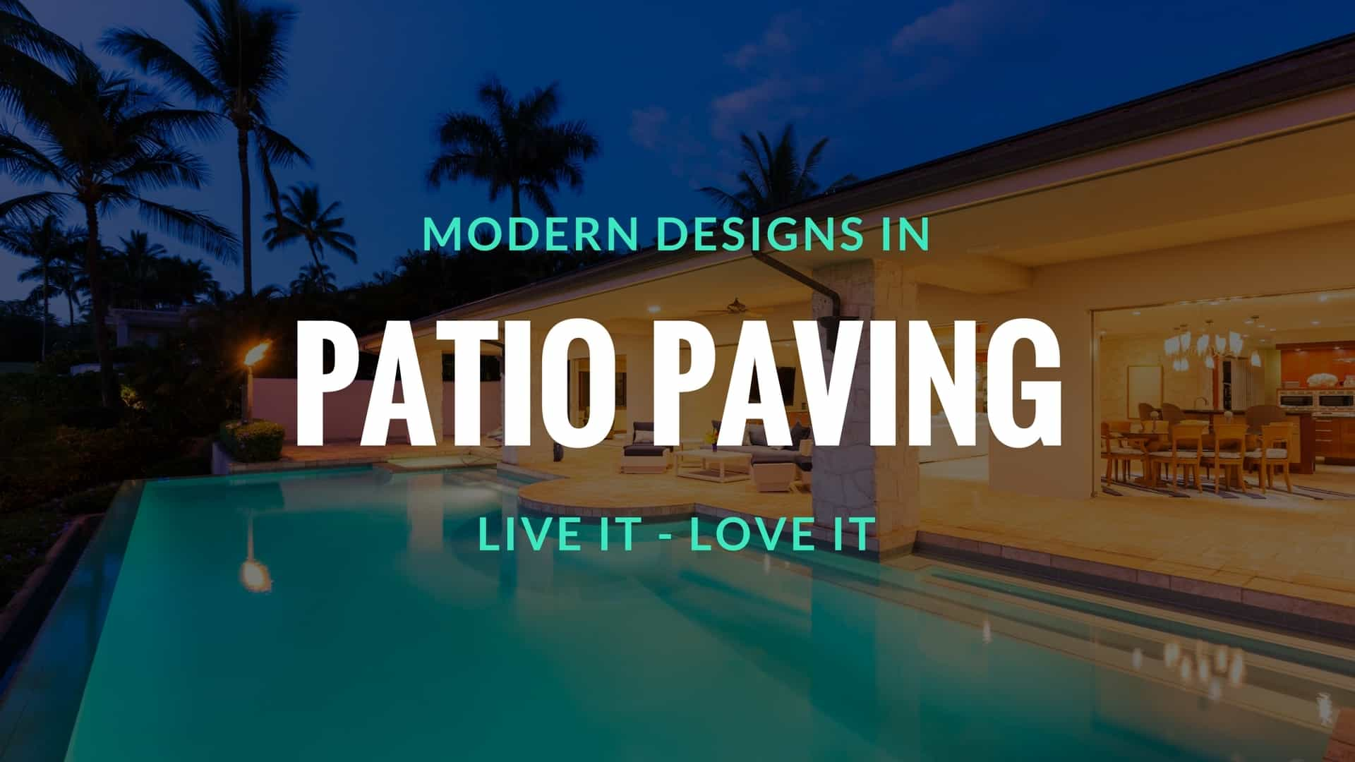 Patio Paving at Home