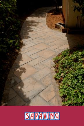 Paved Garden Pathway