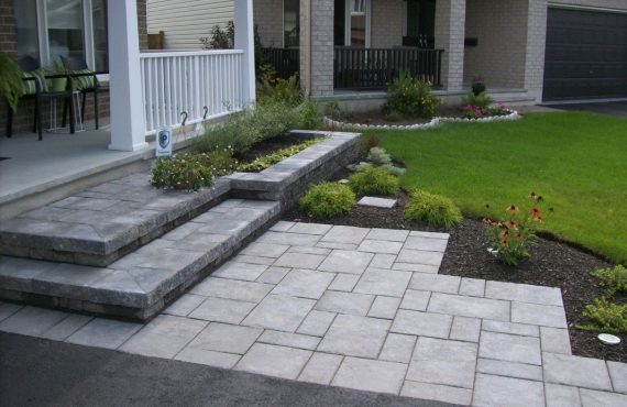Home Entrance Paving