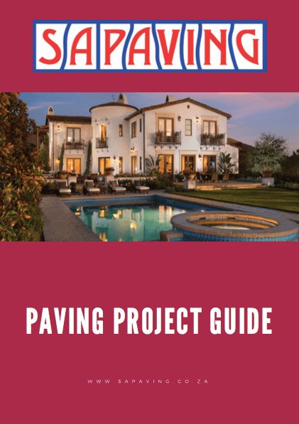 SA PAVING PROJECT GUIDE